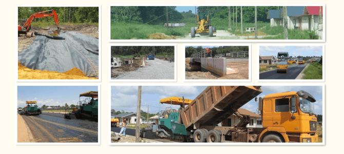 Wegenbouw projecten