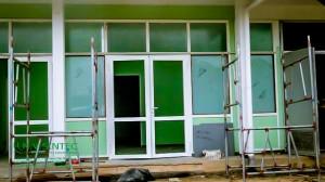 Installeren van  deuren